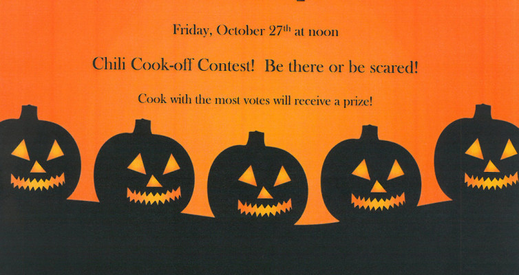 FLFO – Halloween Potluck and Chili Cook Off –  Oct 27